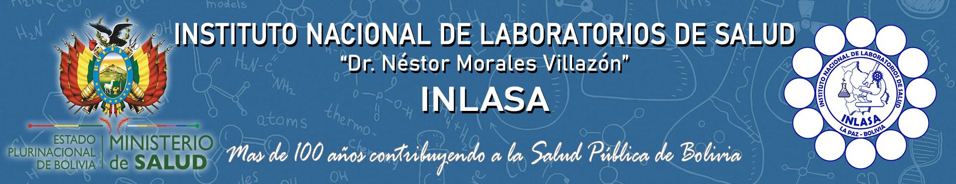 INLASA | Instituto Nacional de Laboratorios de Salud