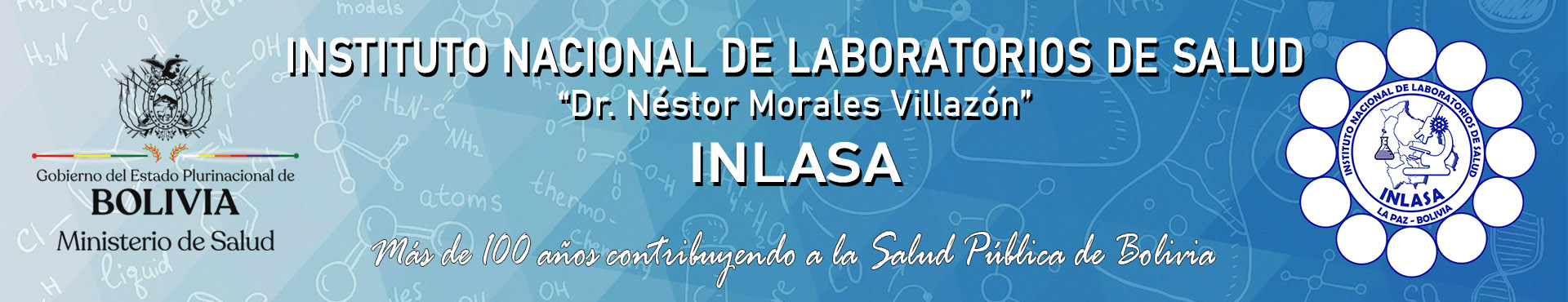 INLASA | Instituto Nacional de Laboratorios de Salud